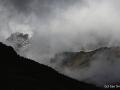 Mt. Kenya jako svůdnice neustále poodhalovala své vrcholky Batian a Nelion